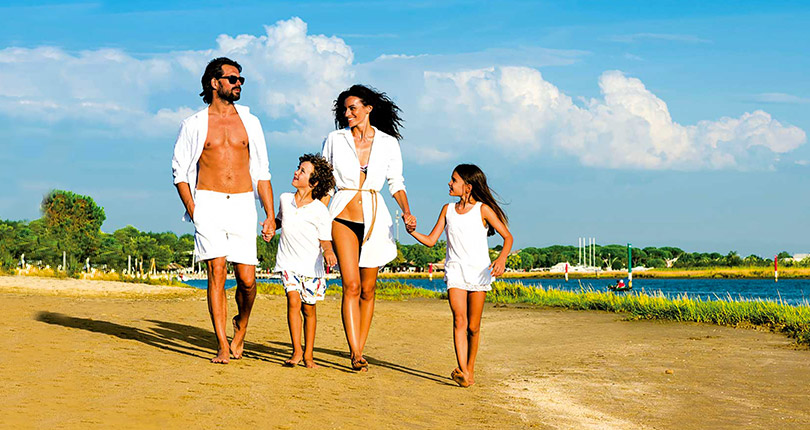 If it's fun for all the family you're after, Bibione is the place to be