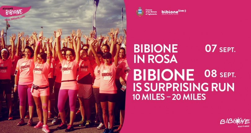 Bibione Run e Bibione in Rosa